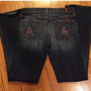 7 For All Mankind A pocket sz 28